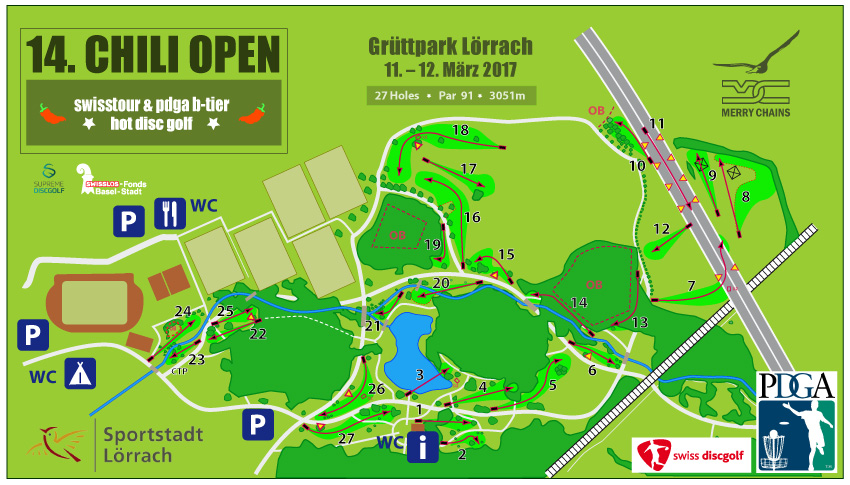 14. Chili Open | Course Map on
